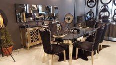Ahşap Yemek Odası