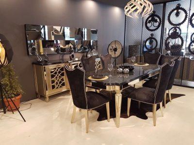 Aynalı Yemek Odası